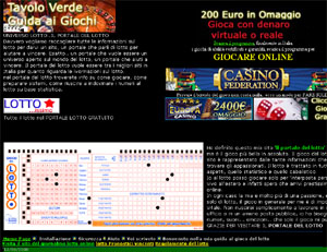 Visita Estrazioni del lotto e superenalotto